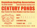 Century Ponds 'Plus One' Day Ticket 2012
