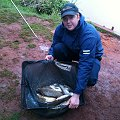 Adam Smith with his 26lb 10oz winning bag of fish