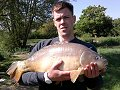 Kevin Milkins with the new Century record fish of 24lb 9oz