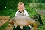 Craig Clark with a 17lb Century Mirror - click to enlarge